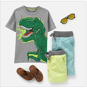 9d5a1a0c Boys' Clothes & Outfits (Size 4-14) | Carter's | Free Shipping