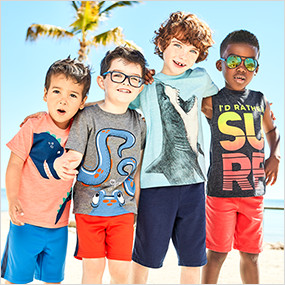cfa66e5adae23 Boys' Clothes & Outfits (Size 4-14) | Carter's | Free Shipping