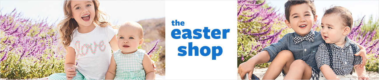 Baby Girl Easter Dresses & Outfits | Carter's | Free Shipping
