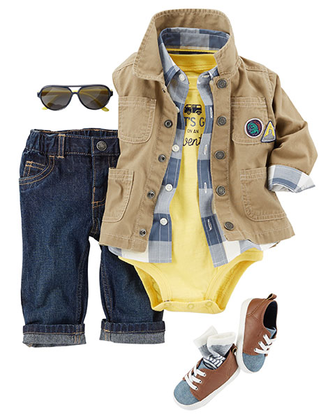 Baby Boy Clothes, Outfits & Accessories | Carter's | Free ...