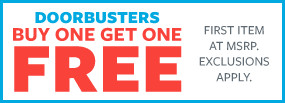 Stock Up and Save the Day | Buy One Get One Free Doorbusters