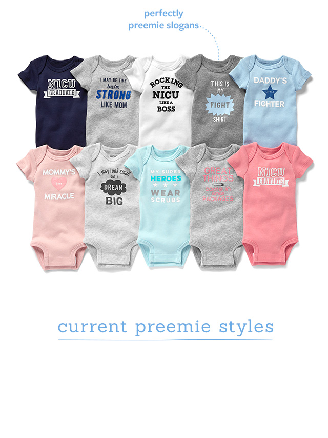 carter's preemie | where the littlest details matter most