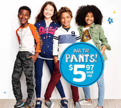 ALL THE PANTS! $5.97 and up