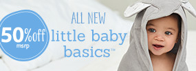 50% Off MSRP - Little Baby Basics