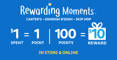 New and improved rewards! Earn $10 for every $100 you spend, online and in store.