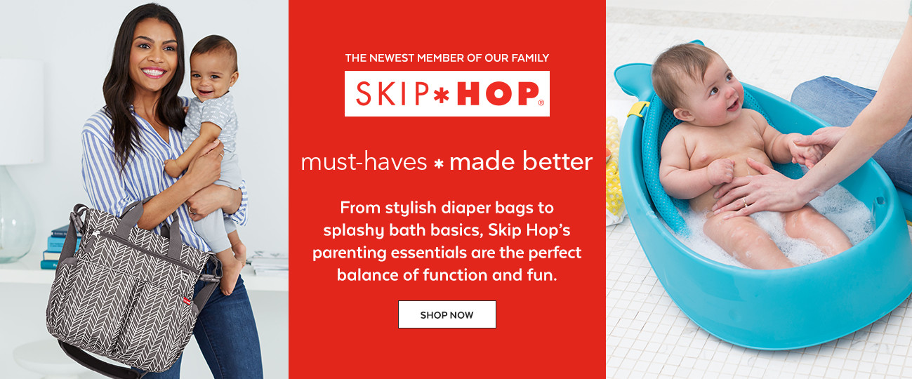 the newest member of our family | SKIP HOP | must-haves * made better | shop now