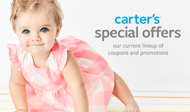 Carter's Special Offers | Our Current Line-Up of Coupons and Promotions