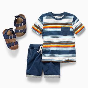 2e58ccbd58bd Toddler Boy Clothing   Carter's   Free Shipping