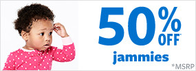 50% off jammies