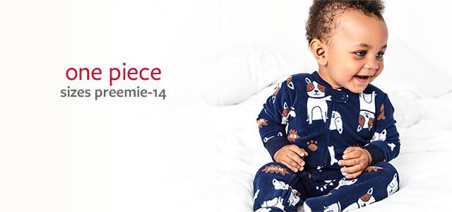 one piece | sizes preemie-12