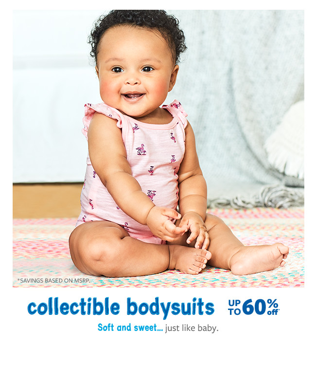 8bce68090 collectible bodysuits up to 60% off msrp. BABY GIRL · BABY BOY. dresses ...