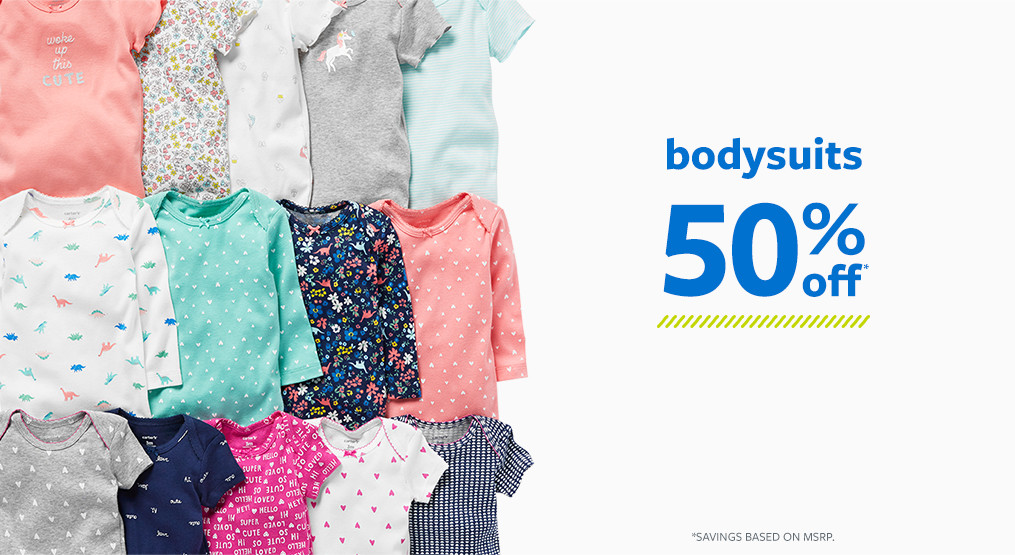 bodysuits 50% off msrp