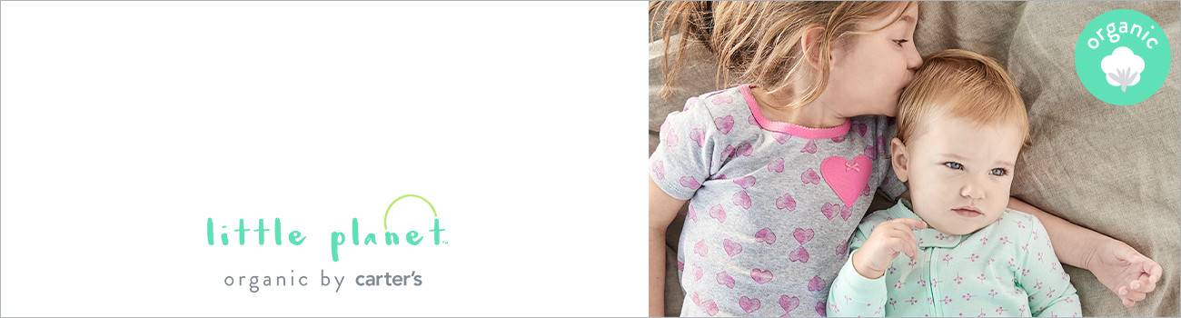 little planet | organic by carter's | organic cotton toddler clothes
