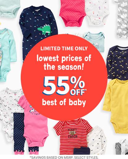 5e535f7e Baby Clothing, Kids Clothes, Toddler Clothes | Carter's