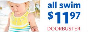 all swim $11.97 doorbuster