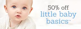 50% Off Baby Basics