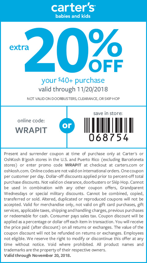 extra 25% off $40+ purchase   code: WRAPIT   exclusions apply valid through 11/20/18