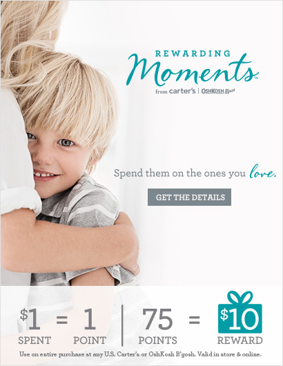 Rewarding Moments from Carter's