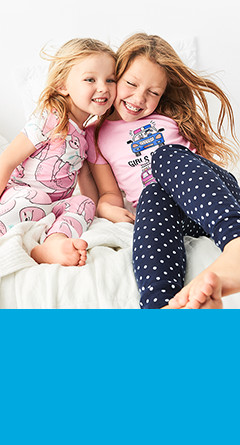 kid girl four-piece pajamas    / sizes 4-14