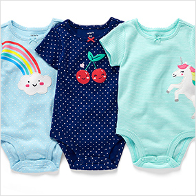 e3df91da801a SHOP BY STYLE. baby bodysuits