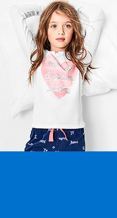 two-piece pajamas / sizes 4-14