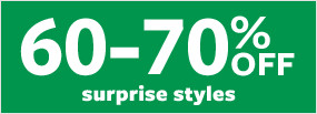 60-70% Off Surprise Styles