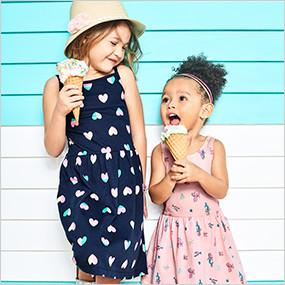 2d8f8bed2d8e2 Toddler Girls Clothing | Carter's | Free Shipping