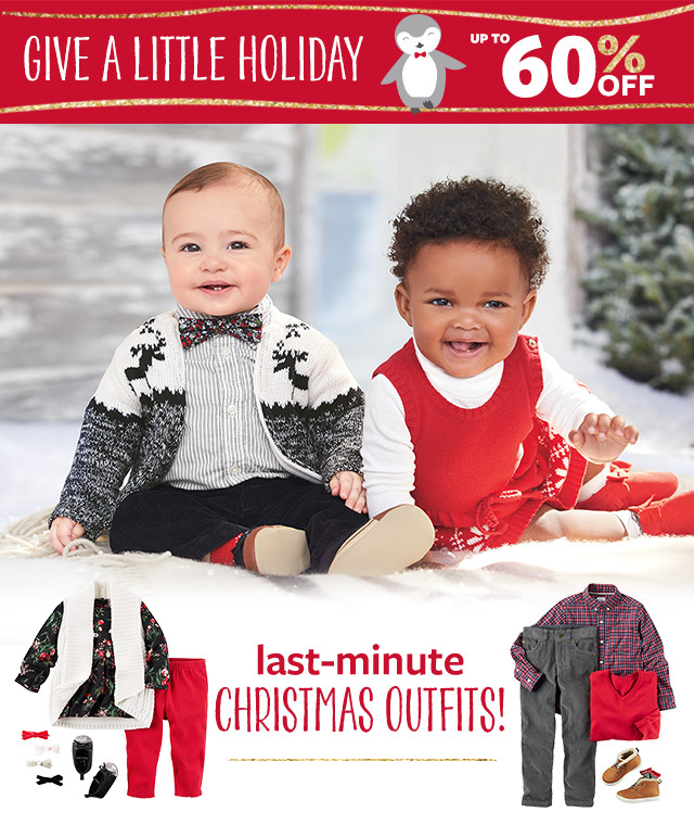 Give a Little Holiday! Up to 60% Off Last Minute Christmas Outfits