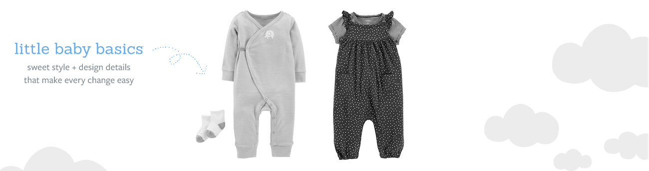 Little Baby Basics Newborn Clothes | Carter\'s | Free Shipping