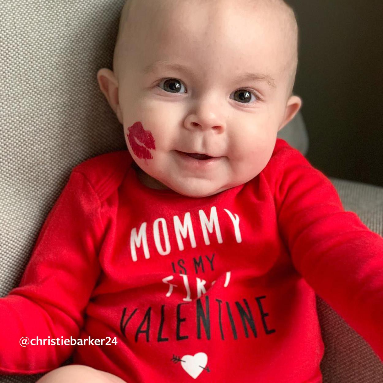 CARTER/'S BOY MOMMY/'S HEART BREAKER RED L//S BODYSUIT NB 3M 6M 18M VALENTINE/'S DAY