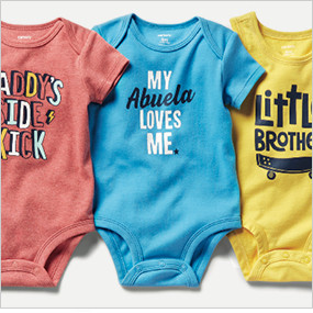 70d9646d9 Baby Boy Clothing | Carter's | Free Shipping