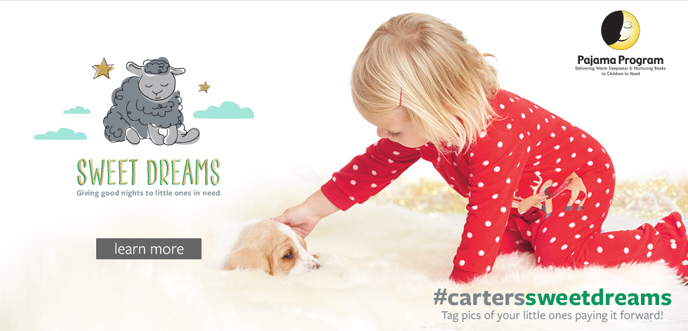 Sweet Dreams Pajama Program | Click to Learn More