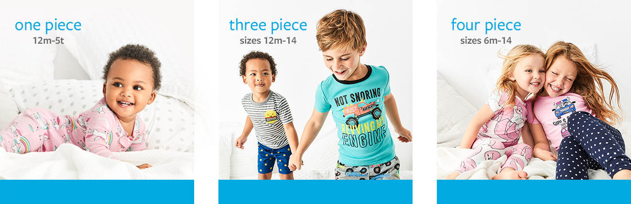 449d95dd17 ... Destination Dreamland - America's Favorite Jammies| Girls and Boys  Sizes NB - 14 | Sizes