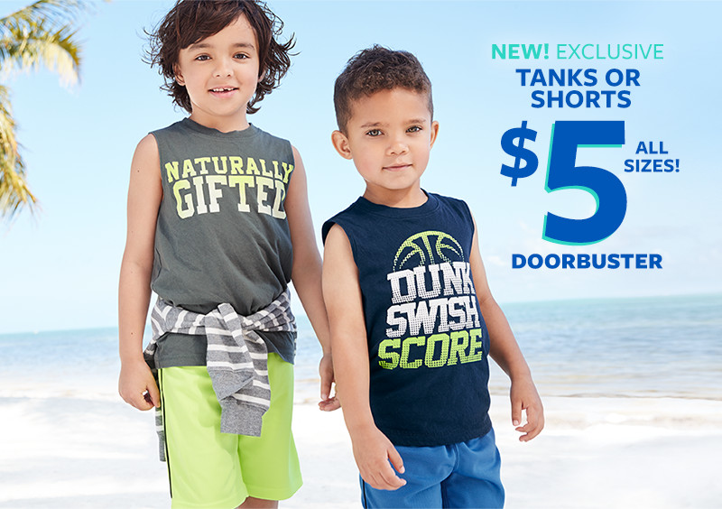 Kid Boys' Clothes, Outfits & Accessories   Carter's   Free Shipping