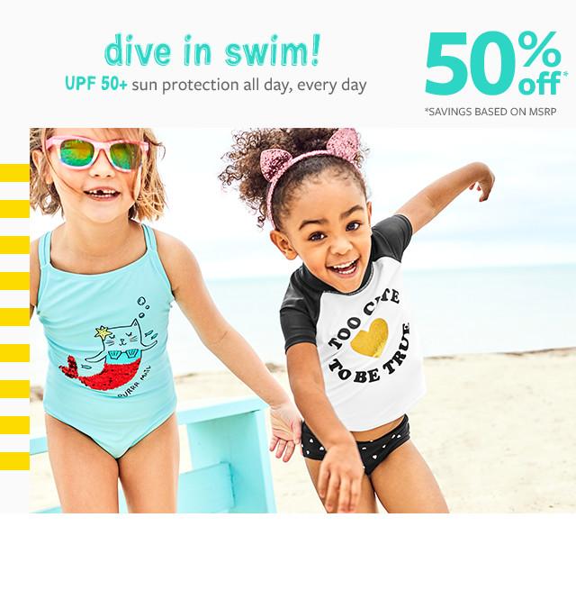 50007cb35672 dive in swim! 50% off msrp