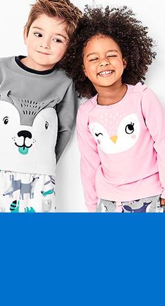 two-piece pajamas   sizes 2t-5t