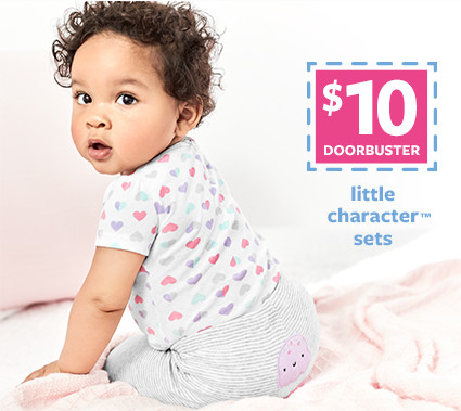 $10 doorbusters | little character sets