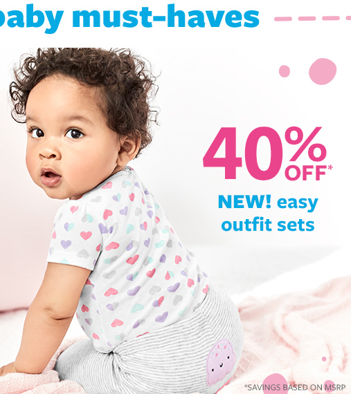 40% off msrp new easy outfit sets