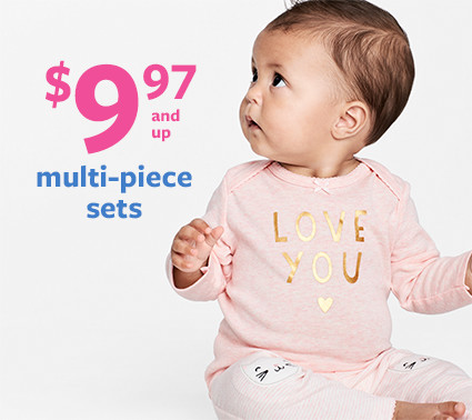 $9.97 and up multi-piece sets