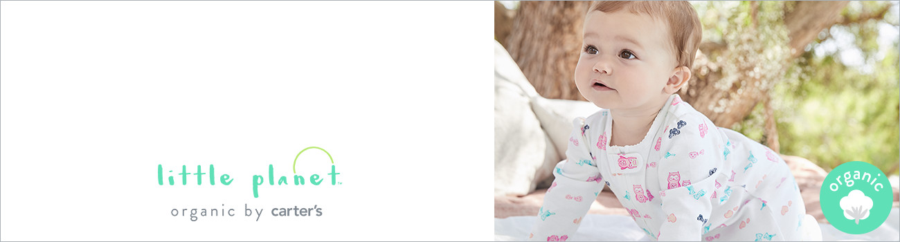 little planet | organic by carter's | organic cotton baby clothes