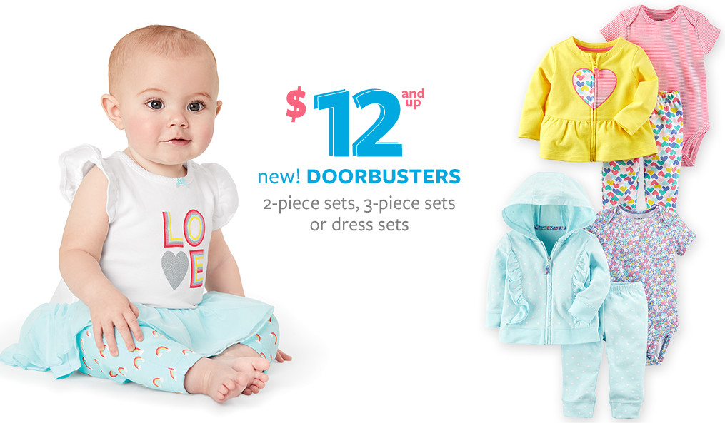 Baby Girl Clothes, Outfits & Accessories | Carter's | Free ...