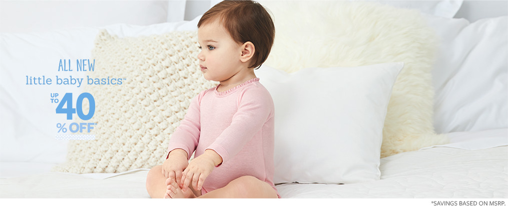 Baby Girl Clothes, Outfits & Accessories | Carter's | Free Shipping