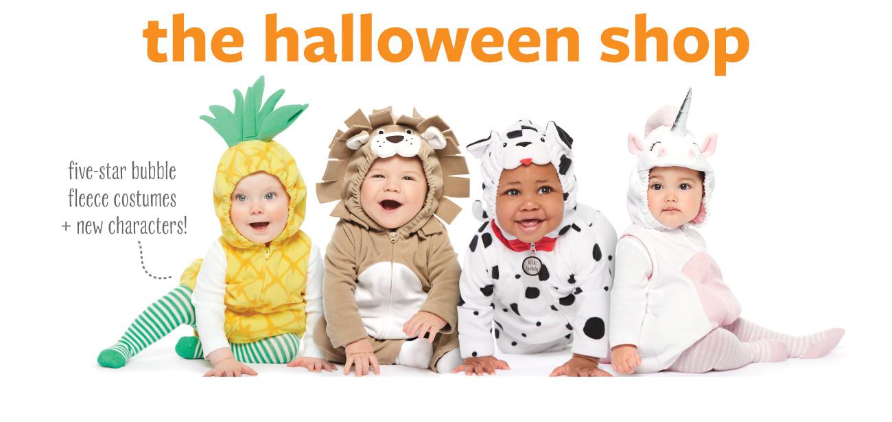 Halloween Shop - Baby, Toddler & Kids Costumes | Carter\'s | Free ...