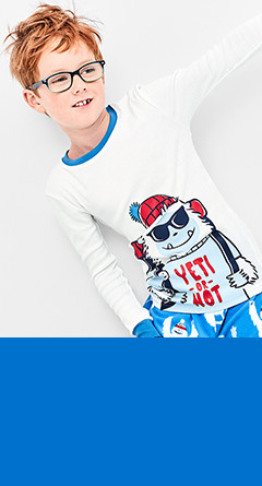 kid boy two-piece pajamas    / sizes 4-14