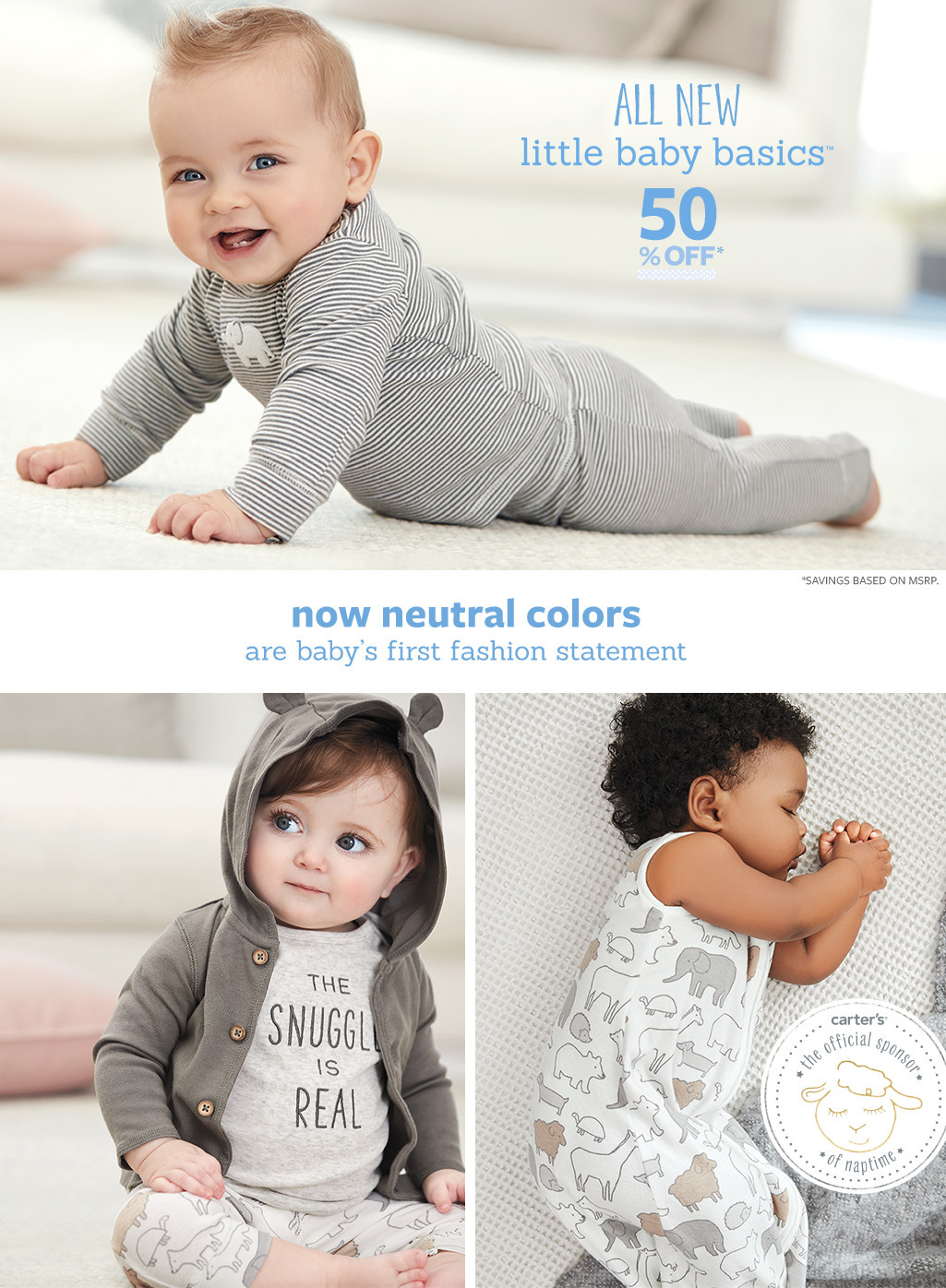 carter u0027s baby neutral clothes free shipping