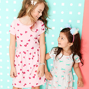 94b8fa1ac6bf Girls' Clothes & Outfits (Size 4-14) | Carter's | Free Shipping