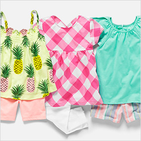 8a3fe1619 Toddler Girls Clothing | Carter's | Free Shipping