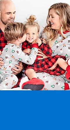 family pajamas    / sizes xs-xxl