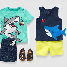 6d8a98df5 Baby Boy Clothing | Carter's | Free Shipping