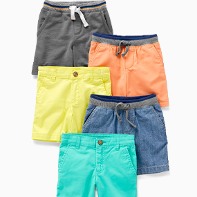 Carters Knitted Mesh Shorts Toddler//Kid